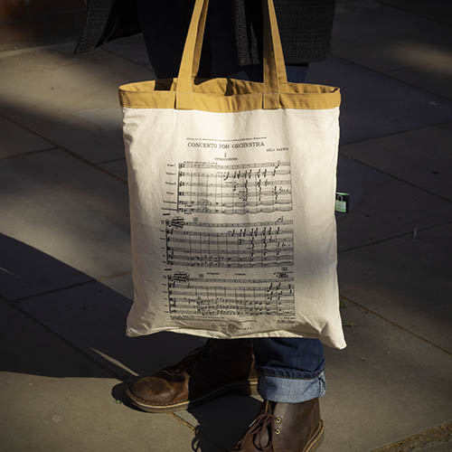 Concerto for Orchestra (HPS 79) Reversible Tote Bag