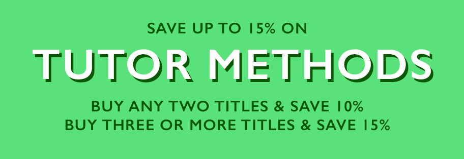 Save up to 15% on tutor methods