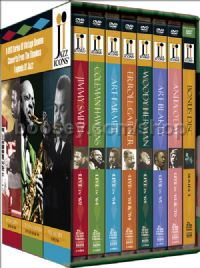 Jazz Icons Series 4 Box Set (Naxos Jazz Icons 4 DVD 8-disc set)