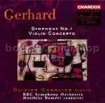Symphony No.1/Violin Concerto (Chandos Audio CD)