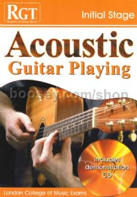 RGT Acoustic Guitar Playing Initial Stage (Book & CD)