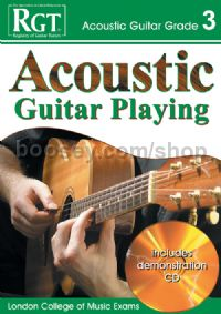 RGT Acoustic Guitar Playing Grade 3 (Book & CD)