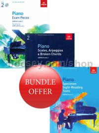 ABRSM Piano Exams 2019-2020 Grade 2 Bundle Offer (Book & CD) - Save 10%