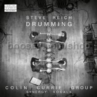 Drumming (Colin Currie Records Audio CD)